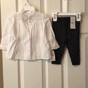 NWT Ralph Lauren outfit set size 9 months